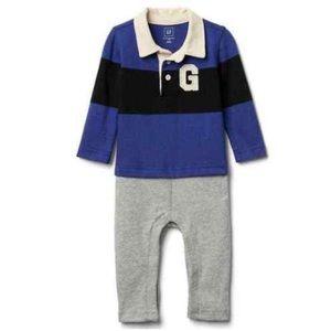 Baby GAP Rugby Romper